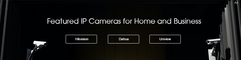 Featured IP cameras