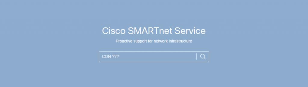 search cisco smartnet