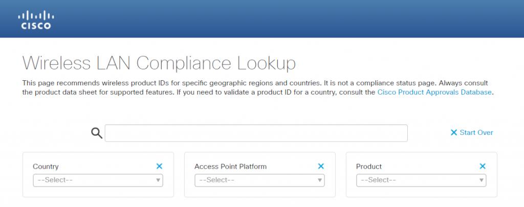 cisco ap compliance lookup-1