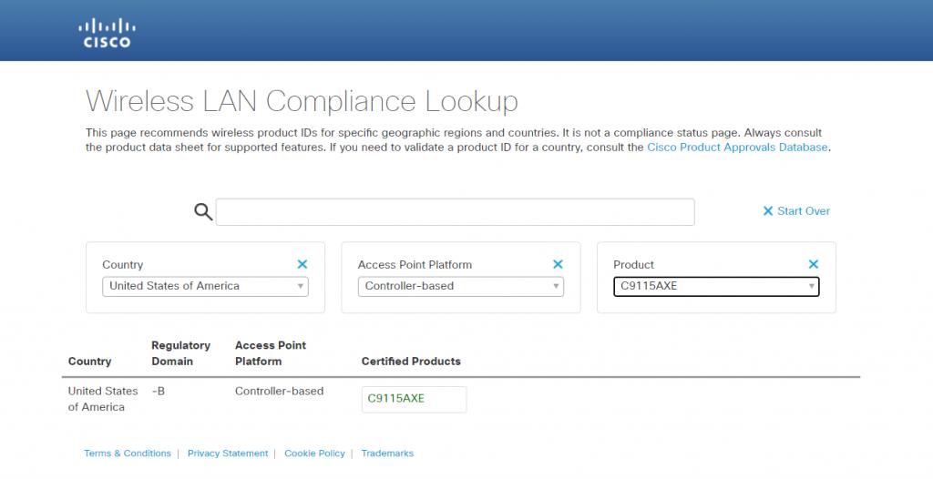 cisco ap compliance lookup-2
