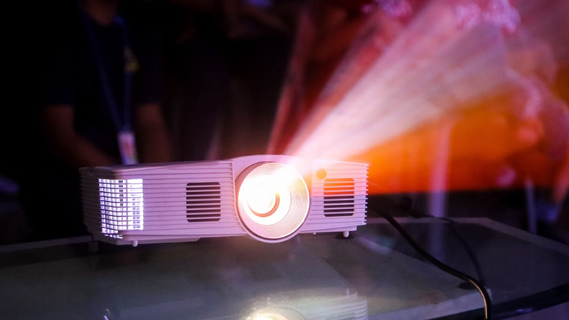 projector installation