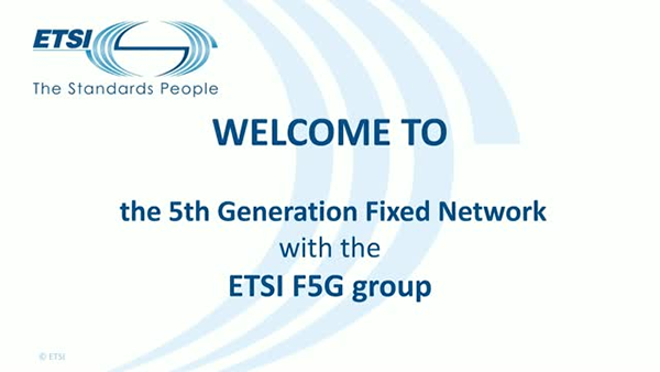 F5G working group