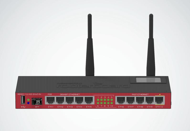 MikroTik 2011 Series WiFi Router