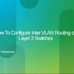 Demo: How to Configure InterVLAN Routing On Layer 3 Switches?