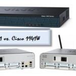 Cisco 1921 vs. Cisco 1941 vs. Cisco 1941W