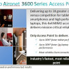 Cisco Aironet 3600, Industry's Fastest, Most Reliable Access Point