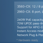 Cisco Catalyst 3560-CX & 2960-CX Model Comparison