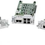 New Cisco NIM cards for Cisco ISR 4000 Family