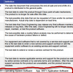 EoS and EoL Announcement  for the Cisco 2911 Integrated Services Router Temperature-Tolerant System