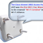 "Cisco Aironet 3802 AP to be Crowned ""Wi-Fi Certified"""