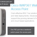 The New Cisco WAP361, The Wireless-AC N Dual Radio Wall Plate Access Point with PoE