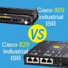 Cisco 809 Industrial ISR vs. 829 Industrial ISR