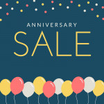 18th Anniversary Sale, Up to 87% Off