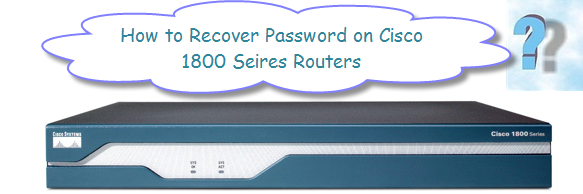 Password Recovery Procedure for the Cisco 1800 Router