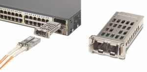 Cisco TwinGig Adapter Converting 10 Gigabit Ethernet X2 Interface into Two Gigabit Ethernet SFP Interfaces