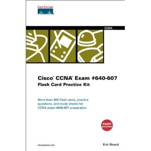 Cisco CCNA Exam #640-607 Flash Card Practice Kit