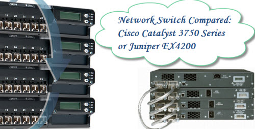 Network Switch Compared: Cisco Catalyst 3750 Series or