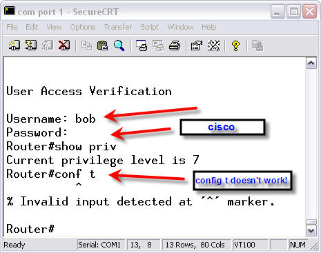 Configuring Local Username Database in Cisco IOS – Router Switch Blog