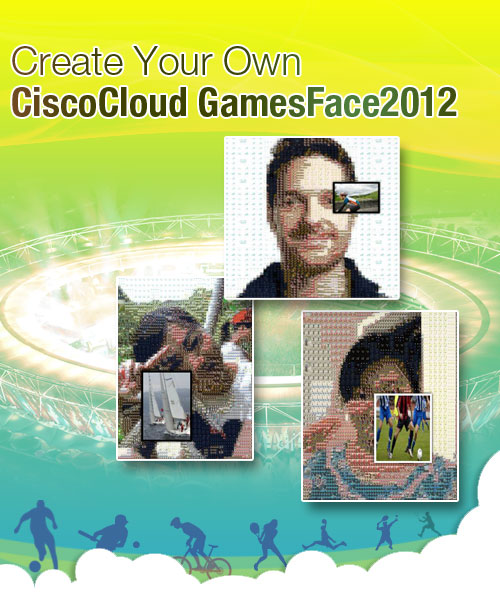 Create Your Own Cisco Cloud Games Face 2012