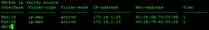 Configuring IP Source Guard-03