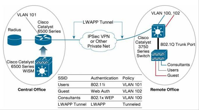 Remote Edge Access Point (REAP) Capabilities