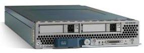B200 M2 half width blade server