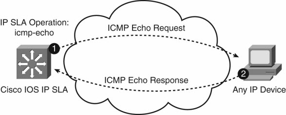IP SLA ICMP Echo Test Operation
