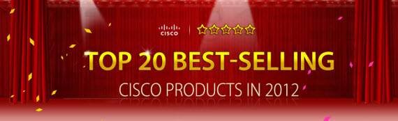 Top 20 best-selling Cisco products