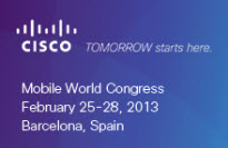Cisco at MWC 2013