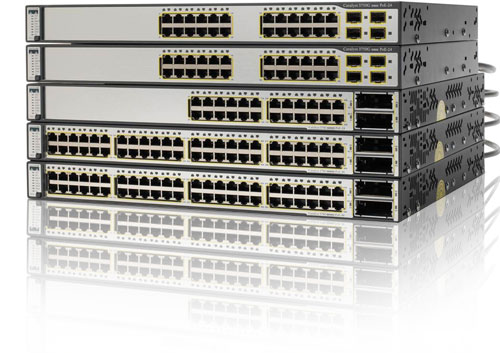 Cisco 3750 Series Switches