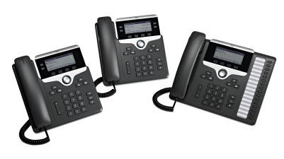 Cisco IP Phone 7800 Series