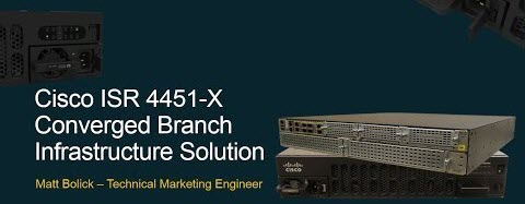 Cisco ISR 4451-X Series