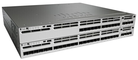 Cisco Catalyst 3850 Switches with Fiber Data Ports