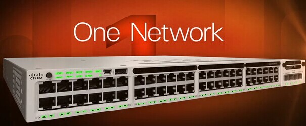 One Network-Cisco 3850 Series