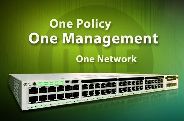 One Network-Cisco 3850 Series