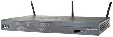 Cisco 881 Integrated Services Router with Integrated 802.11n Access Point