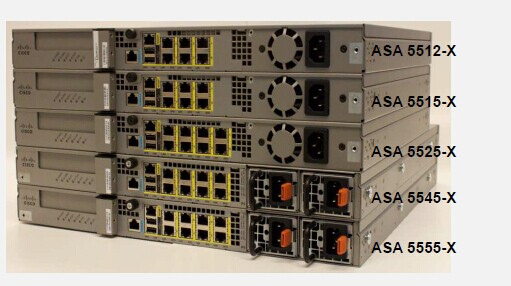 Cisco ASA 5500-X Back View