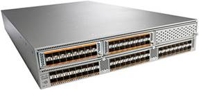 Cisco Nexus 5596UP Switch Configured with Three 16-Port Expansion Modules