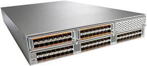 Cisco Nexus 5596UP Switch Configured with Three 16-Port Expansion Modules
