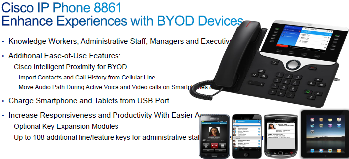 Cisco IP Phone 8800 Series, Next-Generation Voice Communications for