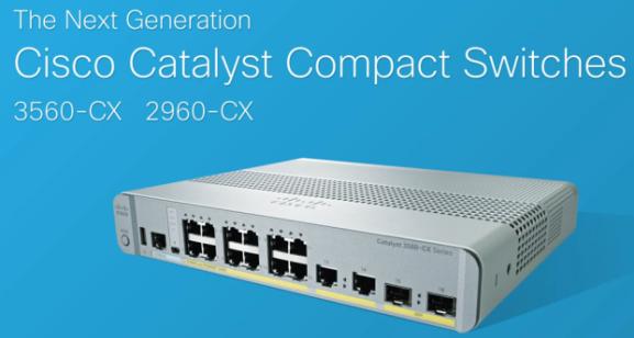 Cisco 2960-CX, 3560-CX