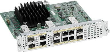 Cisco 6-Port High-Density Gigabit Ethernet WAN Service Module