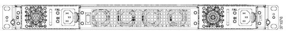 Cisco ASR 1001-X Router Rear View