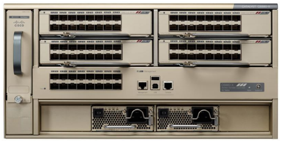 Cisco Catalyst 6880-X Series Chassis with 4 Port Cards