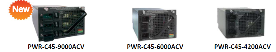 Cisco 4500-E Power Supply