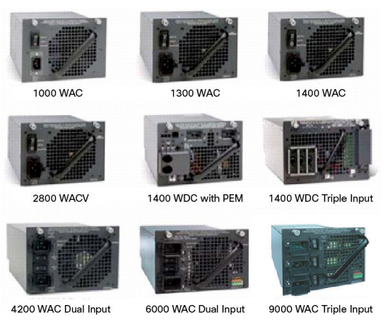 Cisco Catalyst 4500 Series Power Supplies
