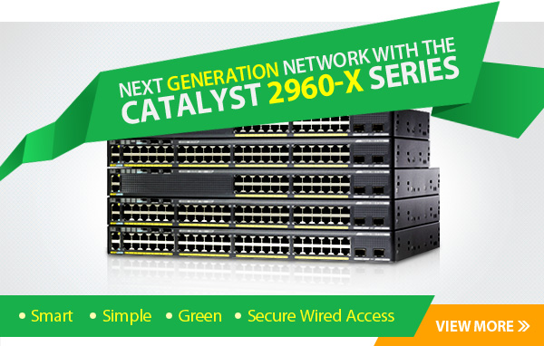SELECT Cisco 2960-X Series