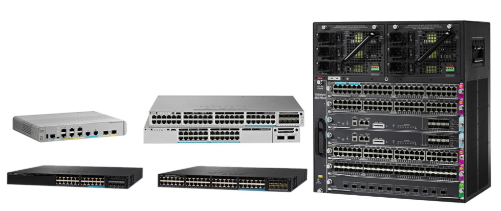 Cisco Catalyst Multigigabit Ethernet Switches