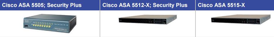 ASA 5505,ASA 5512-X,ASA 5515-X