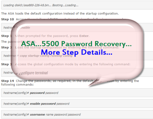 How to Recover the Password for Your ASA? – Router Switch Blog